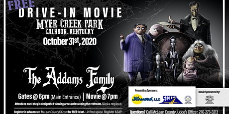 FREE Drive-In Movie at Meyer Creek Park tickets
