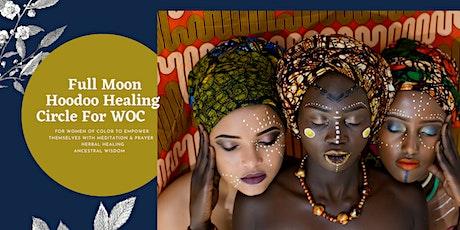 October Full Moon Virtual Circle Hoodoo Healing Circle For Women Of Color tickets