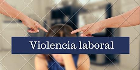 Taller de Violencia Laboral entradas