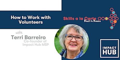 How to Work with Volunteers tickets