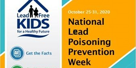 National Lead Poisoning Prevention Week - City of  tickets