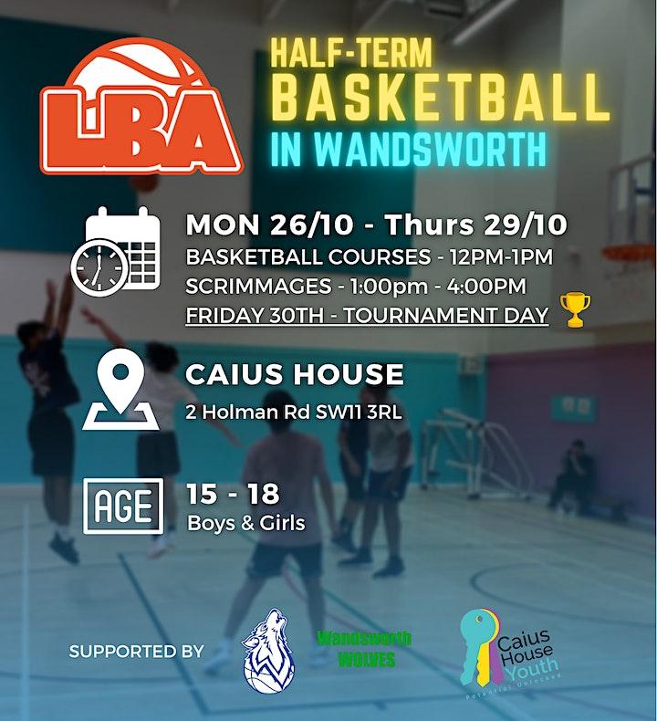U18 Wandsworth Half Term - Holiday Basketball image