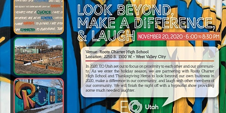 Look Beyond, Make a Difference, & Laugh (Private Event) tickets