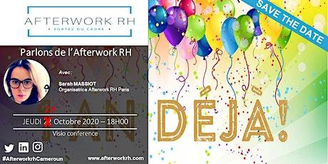 AfterWork RH Cameroun  | Parlons de l'Afterwork RH | Oct. 2020 billets
