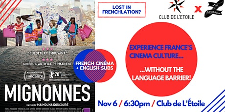 "French Movie Night: ""Mignonnes"" tickets"