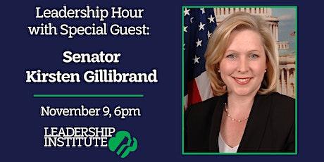 Leadership Institute Leadership Hour with Senator Kirsten Gillibrand tickets
