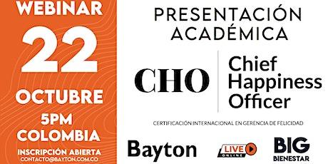 Presentación Académica - CHO 17° Edición - Colombia Online Live entradas