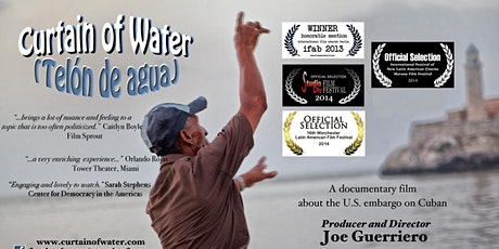 """Curtain of Water"" Discussion with filmmaker Joe Guerriero tickets"