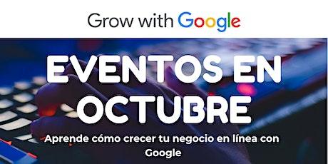 Alcance a los clientes en línea con Google tickets