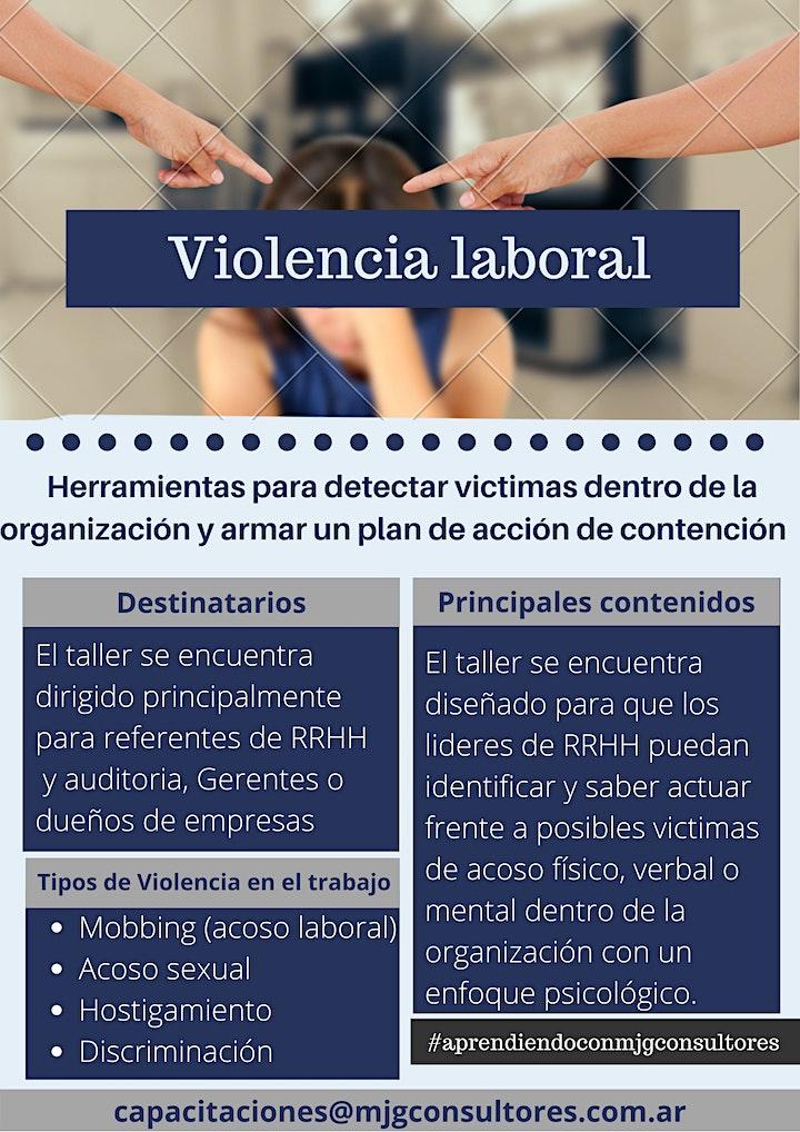 Imagen de Taller de Violencia Laboral