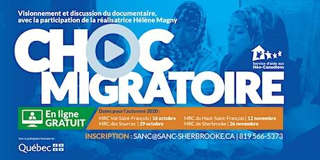Discussion du documentaire Choc Migratoire avec Hélène Magny tickets