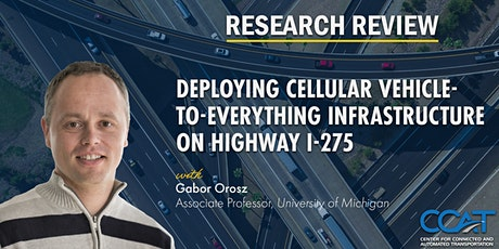 Deploying CV2X Infrastructure on Highway I-275 - CCAT Research Review tickets