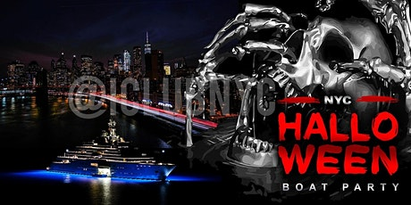 #1 NYC HALLOWEEN WEEKEND BOAT YACHT CRUISE  Music & Cocktails tickets