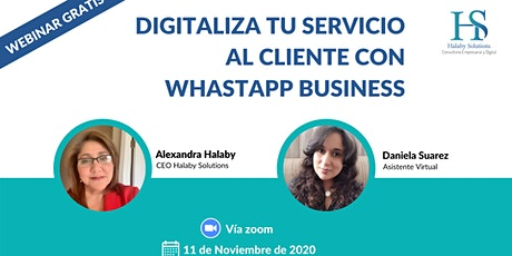 DIGITALIZA TU SERVICIO AL CLIENTE CON WHATSAPP BUSINESS ingressos