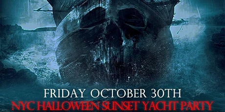 HALLOWEEN SUNSET NYC YACHT PARTY!! THURSDAY, OCT. 30th 6:30pm - 9:30pm tickets