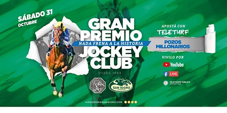 Gran Premio Jockey Club 2020 - Nada Frena a La Historia entradas