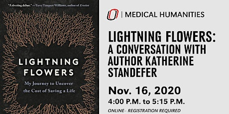 Lightning Flowers: A conversation with author Katherine Standefer tickets