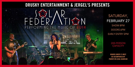 Solar Federation - A Tribute to Rush tickets