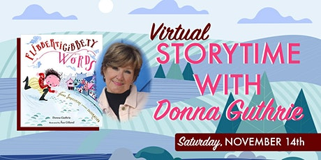 Storytime with Donna Guthrie tickets