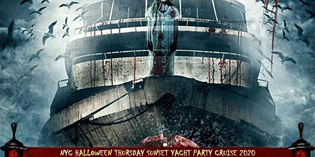 NYC HALLOWEEN SUNSET YACHT PARTY!! THURSDAY, OCT. 29th 6:30pm - 9:30pm tickets
