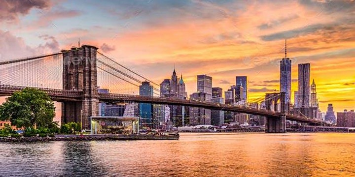 #1 NYC BRUNCH BOAT PARTY YACHT CRUISE AROUND NEW YORK CITY SUNSET image
