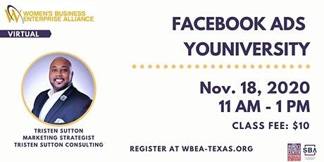 Facebook Ads YOUniversity tickets