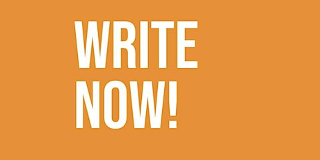 Write Now! - weekly online writing group tickets