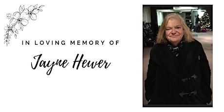 Memorial Service for Jayne Hewer tickets