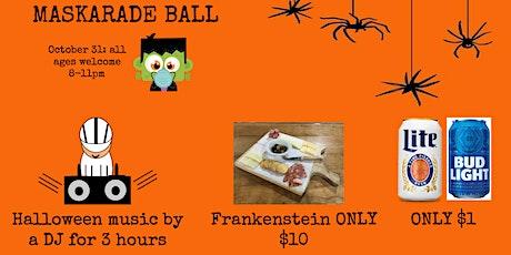 Maskarade Ball tickets