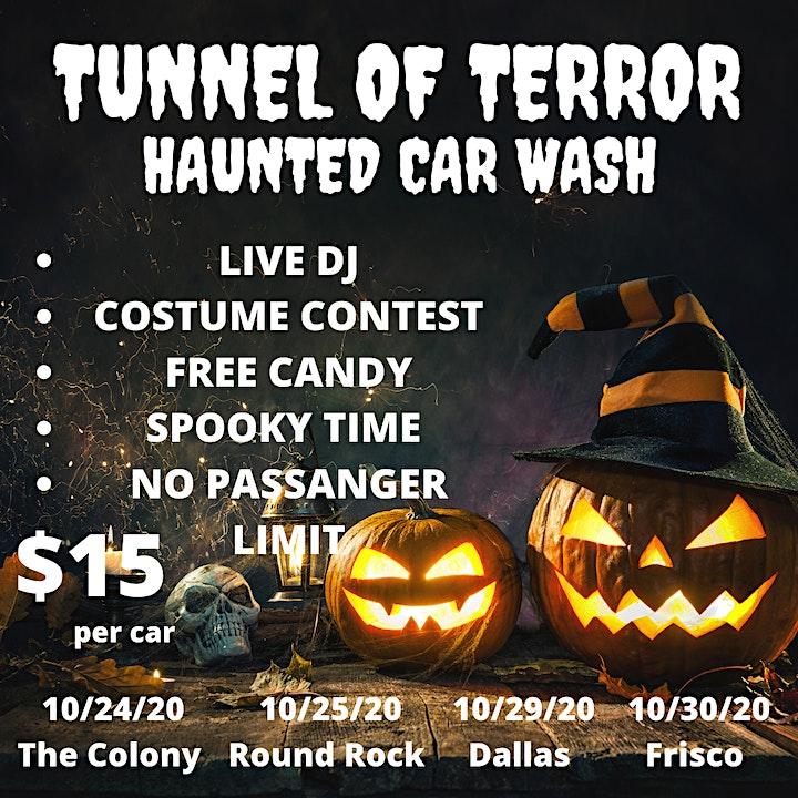 TUNNEL OF TERROR HAUNTED CAR WASH image
