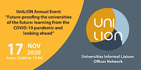 UnILiON Annual Event: Future-proofing the universities of the future tickets