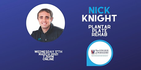 Nick Knight: Plantar Plate Rehab tickets