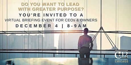C12 Chicago Executive Briefing- Virtual Event tickets