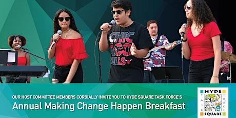 Annual Making Change Happen Breakfast tickets