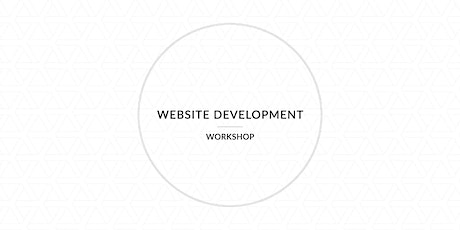 Website Workshop tickets