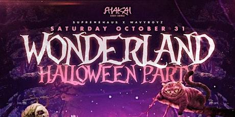 WONDERLAND AT SHAKAI HALLOWEEN NIGHT| Dembow Y Reggaeton + HIP HOP tickets
