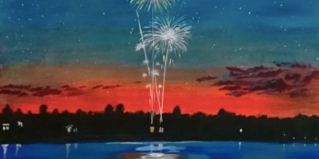 Fireworks Painting with Melanie Fay tickets