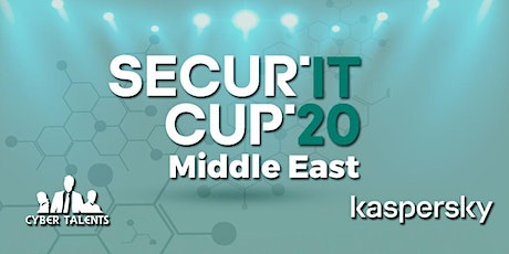 Secur'IT Cup Hackathon Middle East 2020 tickets