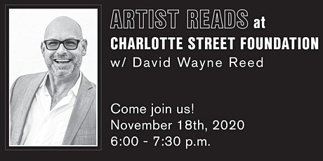 Artist Reads @Charlotte Street with David Wayne Reed tickets