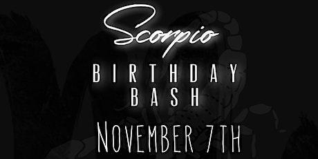Scorpio Birthday Bash tickets
