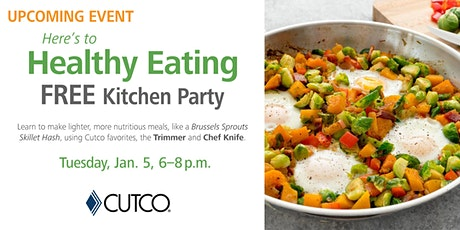 FREE COOKING CLASS: Healthy Eating tickets