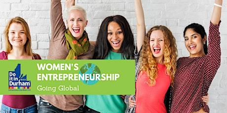 Women's Entrepreneurship - Going Global tickets