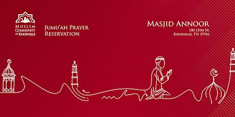 Masjid Annoor—MCK Jumu'ah Salah tickets