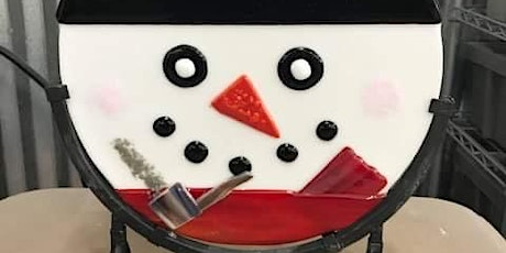 Sold Out Frosty the Snowman Fused Glass Class tickets