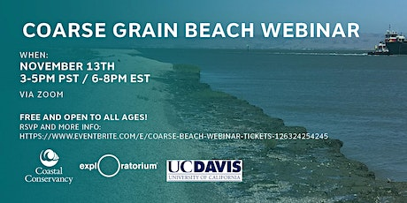 Coarse Beach Webinar tickets