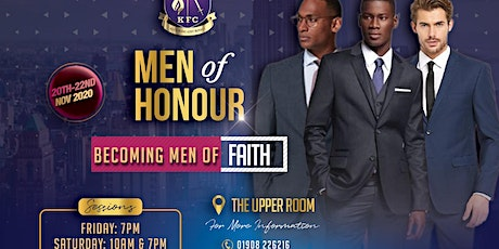 Men of Honour Conference - Becoming Men of Faith tickets