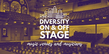Diversity On & Off Stage Discussion tickets