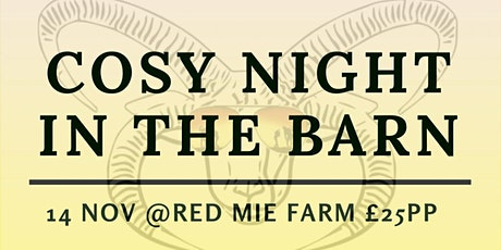 Cosy Night In The Barn with Versa tickets