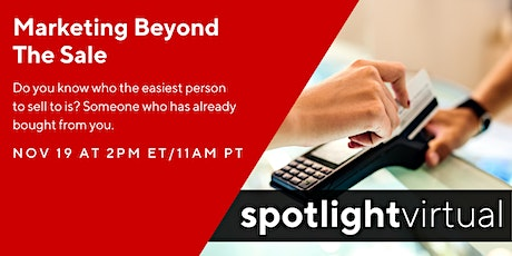 Marketing Beyond The Sale tickets