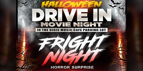 Halloween Drive-In Movie Night at Gigi's Music Cafe tickets